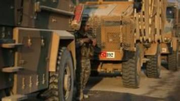 USA drohen Türkei mit Sanktionen - US-Truppen beschossen