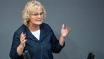 christine lambrecht: antisemitische taten müssen mit aller konsequenz verfolgt werden