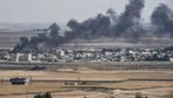 Recep Tayyip Erdoğan: Angela Merkel fordert sofortigen Stopp des Angriffs auf Syrien