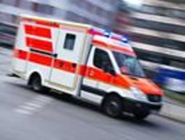 Mehrere Verletzte nach Unfall mit Rettungswagen