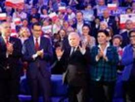 umfragen sagen nationalkonservativer pis hohen sieg voraus