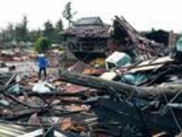 Mindestens 33 Tote durch Sturm und Überschwemmung