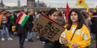 Kurdische Demos in Deutschland: Ungelöster Konflikt