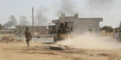 Türkische Militäroffensive gegen Syrien: Truppen rücken weiter vor