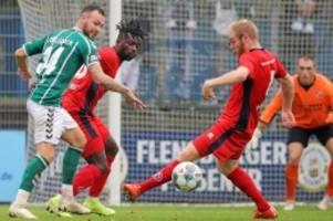 fussball-regionalliga: eintracht norderstedt verliert 1:2 gegen vfb lübeck