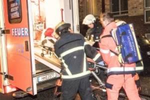 heimfeld: 43-jähriger sticht mit messer auf ex-freundin und mann ein