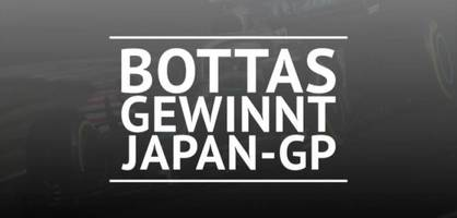 F1: Bottas siegt vor Vettel und Hamilton
