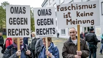 Demonstration gegen Antisemitismus und rechte Gewalt