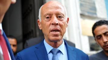 Präsidentenwahl in Tunesien: Erdrutschsieg von Jurist Kaïs Saïed