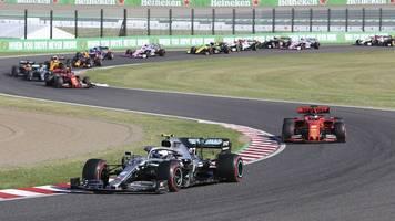 Großer Preis von Japan: Bottas vor Vettel in Suzuka - Mercedes holt Konstrukteurs-WM