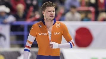 Sven Kramer: Eisschnelllauf-Olympiasieger vom Auto angefahren