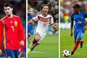 WM 2018 - Götze, Coman, Martinez, Morata: Die WM-Elf der Daheimgebliebenen