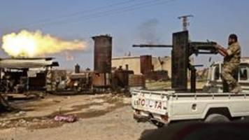 kämpfe in nordsyrien: erbitterte gefechte mit vielen toten