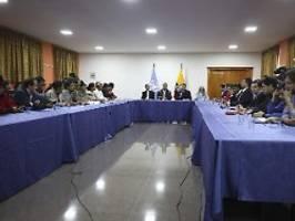 Regierung und Indigene einig: Ecuador nimmt Spritpreis-Erhöhung zurück