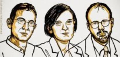 Nobelwoche: Trio erhält Nobelpreis für Kampf gegen die Armut