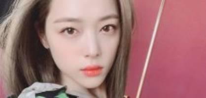Ehemaliges F(x)-Mitglied: K-Pop-Star Sulli stirbt mit 25 Jahren