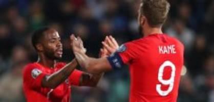 EM-Qualifikation: Rassismus überschattet Englands Kantersieg