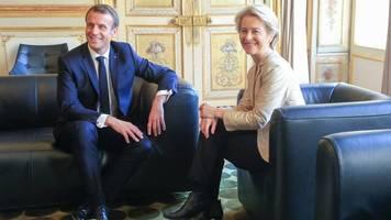 Paris: Macron empfängt von der Leyen nach Kommissarsdebakel