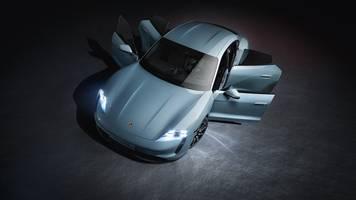 Neuer Elektro-Sportwagen: Porsche Taycan 4S wird ab 105 607 Euro kosten