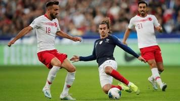 EM-Qualifikation: Frankreich und Türkei verpassen vorzeitige EM-Quali