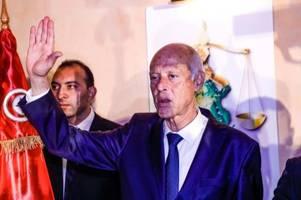 Tunesier feiern parteilosen Kais Saied als neuen Präsidenten