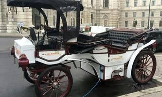Wien Energie schickt E-Fiaker auf Tour