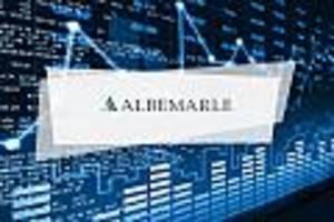 Albemarle-Aktie Aktuell - Albemarle mit wenig Bewegung