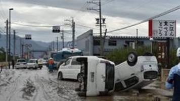 bergungskräfte finden weitere opfer nach taifun in japan