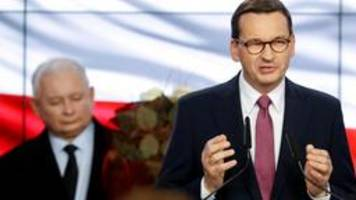 ergebnis in polen: regierungspartei pis kann allein regieren
