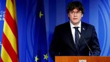 Puigdemont erneut mit internationalem Haftbefehl gesucht