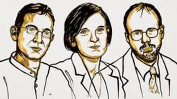 Wirtschaftsnobelpreis geht an drei Armutsforscher
