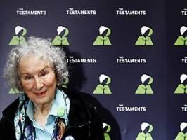 Ausnahme bei Literatur-Preis: Atwood und Evaristo gewinnen Booker Prize