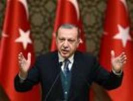 Erdogan wirft Europa Versagen in Syrien vor