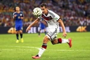 """fussball: miroslav klose: """"lewandowski ist zehn mal besser als ich"""""""