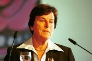 Trauer: Frühere SPD-Politikerin Anke Fuchs mit 82 Jahren gestorben