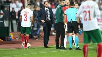Bulgarien gegen England: Entsetzen nach Rassismus-Vorfällen in Sofia