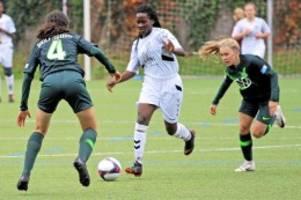 Fussball: HTB-Girls verlieren nur 1:2 gegen den deutschen Meister