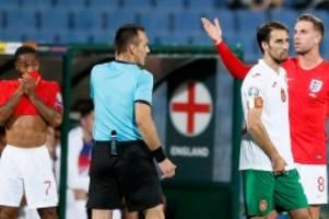 EM-Qualifikation: Rassismus-Eklat gegen England-Profi: Spielabbruch drohte