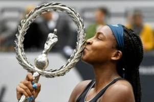 Tennis: Schon raus, dann Siegerin: Tennis-Teenager Gauff verblüfft
