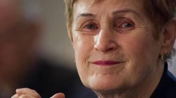 anke fuchs (†82): spd-politikerin stirbt nach schwerer krankheit