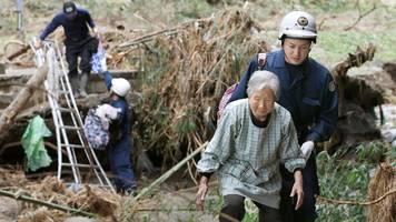 Nach Taifun Hagibis in Japan: Noch mehr Tote und enorme Schäden