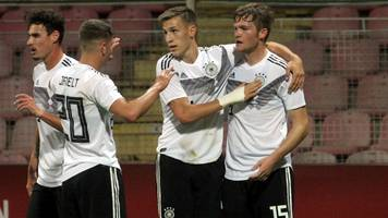 Deutsche U21-Nationalmannschaft schießt sich an sie Tabellenspitze