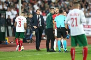 Bulgarien gegen England: Der Abend der Schande