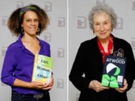 Booker-Preis für Atwood und Evaristo: Das literarische Duett