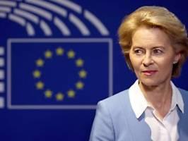 Drei EU-Kommissare blockiert: Von der Leyen muss Start verschieben