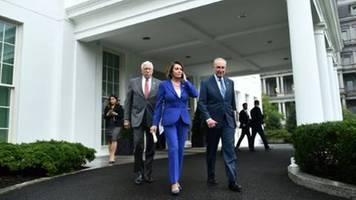 Streit um Trumps Syrien-Kurs führt zu Eklat bei Treffen mit US-Oppositionschefs