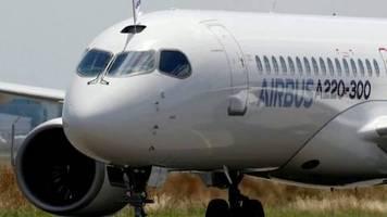 Video: Lufthansa-Tochter Swiss lässt Airbus A220 am Boden
