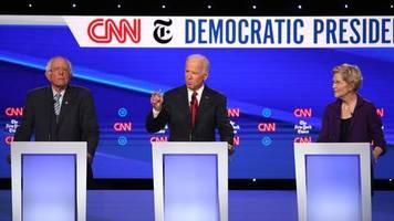 Kampf um US-Präsidentschaft: TV-Debatte der Trump-Gegner: Jetzt liegt Elisabeth Warren bei den Demokraten vorn