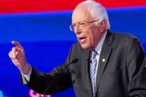 US-Wahlen: Trotz Herzinfarkts: Sanders punktet bei Demokraten-Debatte