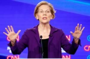 US-Wahlkampf: Elizabeth Warren: Das ist die Frau, die Trump besiegen will